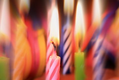 Happy 8th Anniversary Macro Mondays! (Esther5h) Tags: party feest macro canon festive candles candle candlelight colourful kaars kaarsen kaarslicht feestelijk canon450d macromondays 8thanniversarymacromondays