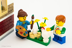 Easter Egg (Link900) Tags: chicken easter lego egg pasqua uovo gallina minifigures
