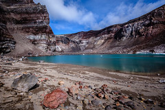 Crater lake (kuhnmi) Tags: lake mountains nature landscape volcano see russia natur crater craterlake volcanoes vulkan krater kamchatka volcaniccrater russland    landscapephotography  volcaniclandscape  kratersee vulkanlandschaft  gorely      vulkangorely volcanogorely