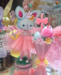 Ida The Spring Bunny (saturdayfinds) Tags: holiday bunny bunnies easter easterbunny whimsical whimsey keepsake eastereggs easterrabbit easterparade saturdayfinds bumpchenille
