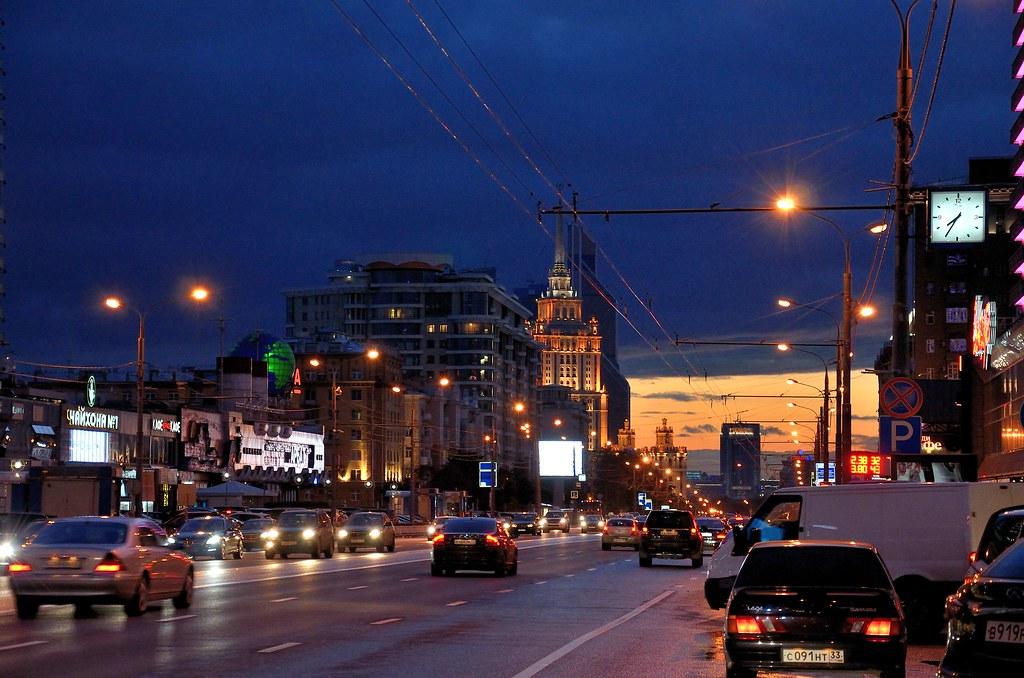 фото: Новый Арбат / New Arbat street