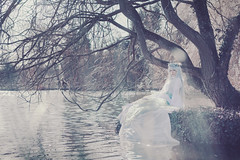 The gravity of the lake (aura-amy eresford ) Tags: portrait fashion fairytale caitlin spring princess cosplay creative smith fantasy klysm