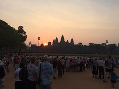 It's still rising (goforchris) Tags: sunrise spectacular dawn cambodia angkorwat