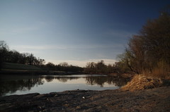 Dirt In The Sky (j.caleb12) Tags: river landscape outdoors pentax density 18mm neutral k50