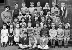 Carnoustie Street, Scotland (theirhistory) Tags: uk school girls pee boys socks kids children photo shoes dress pants sandals tie skirt class teacher junior trousers jumper shorts form primary peeing wetting