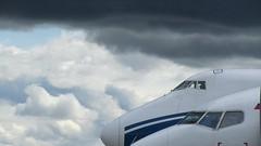 UTAir Boeing 737-500 & AirBridgeCargo Boeing 747-400ERF & UTAir Boeing 737-500 at Krasnoyarsk, Yemelyanovo Airport (Silent.91) Tags: plane canon airplane is airport day force aircraft aviation powershot airshow abc boeing 747 spotting jumbo 737 freighter b747 avia  b737 kja unkl   krasnoyarsk  b744 sx210 utair  airbridgecargo b735 b747f   747400erf  vpbim yemelyanovo  vqbpq