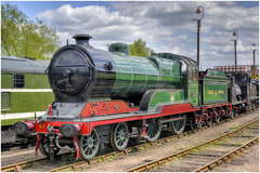 506 'Butler Henderson'. Barrow Hill. (Alan Burkwood) Tags: steam locomotive 506 gcr d11 barrowhill butlerhenderson improveddirector