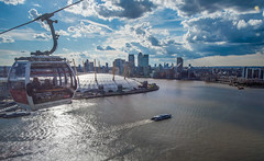 London from above (Alan Habbick Photography.) Tags: london cablecar docklands canarywharf riverthames londonskyline o2arena