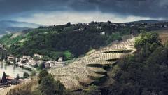 A Village (Quicksil7er) Tags: france architecture buildings river landscape spring village wine hills plantation 169 d700 quicksil7er