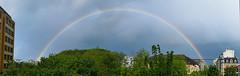 La terre est ronde ! (andrscho) Tags: nature couleurs arc paysage spectre arcenciel