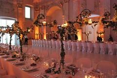 Allestimento tavoli (CastellodegliAngeli) Tags: lights luci fiori atmosfera sera decorazioni allestimento tavoli