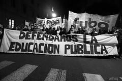Marcha Nacional Educativa (val-) Tags: blackandwhite blancoynegro public argentina education buenosaires protest photojournalism marcha educacin pblica fotoperiodismo valeriaraggio valrag