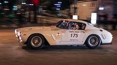 Ferrari 250 GT Berlinetta (Pichot Thomas) Tags: auto paris car night canon 2000 tour grand ferrari voiture palais gt 250 vehicule optic berlinetta 500d