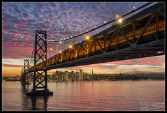 City by the Bay (Aaron M Photo) Tags: sanfrancisco california bridge sunset lights nikon cityscape treasureisland baybridge bayarea sanfranciscobay suspensionbridge yuerbabuenaisland yuerbabuena sanfranciscophotography aaronmeyersphotography