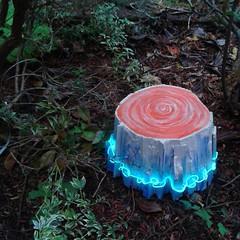 mini stump (starheadboy) Tags: stump sculpture starheadboy art seattle