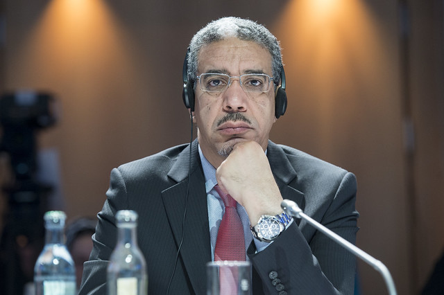Aziz Rabbah at the Closed Ministerial Session