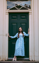 Marissa (EmilyCaitlin1231) Tags: flowers summer portrait tower nature senior girl beauty gardens photoshop spring estate cross lightroom seniorportrait vsco