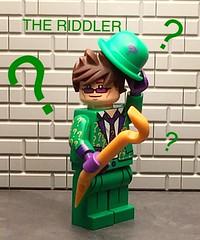 The Riddler (njgiants73) Tags: city comics dc lego batman knight superheroes gotham asylum riddler villains arkham