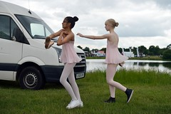 (geo_hill) Tags: park ballet dance dancers performance practice unaware