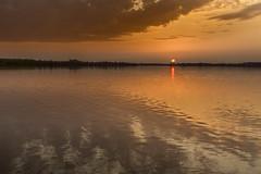 passion (pflegebaer) Tags: light sunset sky lake water clouds evening warm mood 11 martenbaer