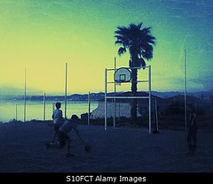 Photo accepted by Stockimo (vanya.bovajo) Tags: sunset sea playing man male men playground basketball sport sunrise outdoors basket young teen recreation iphone iphonegraphy stockimo