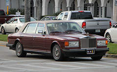 Rolls Royce Silver Spur III (RudeDude2140a) Tags: red classic car sedan silver spur iii exotic rolls luxury royce