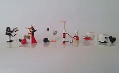 The Queen's Croquet Set: Alice in Wonderland (LeahG16) Tags: hearts lego queen croquet