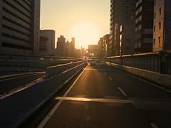 highway_1130774 (strange_hair) Tags: road street sunset japan speed tokyo highway