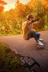 djungelisac (Gustav Norrhll) Tags: life light sunset night speed photoshop fire skateboarding outdoor low style downhill bonfire jungle hdr campsite