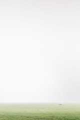 Soccer Training (Griffin Simm) Tags: fog landscape melbourne minimalist softtones canon6d vscofilm sigma50mmart