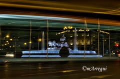 Las diosas tambin van en bus (mArregui) Tags: bus nocturna cibeles palacio diosa autobs lacibeles fotografanocturna diosacibeles wwwarreguimeluscom palaciodelacibeles marregui