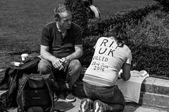 Prophets Of Doom (Silver Machine) Tags: london housesofparliament uk eu brexit protest demonstration tshirts fujifilm fujifilmxt10 fujinonxf35mmf2rwr