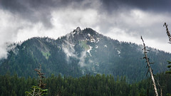 The Looming Storm (J*Phillips) Tags: trees sky storm mountains clouds forest landscape washington nationalpark backgrounds drama olympicnationalpark
