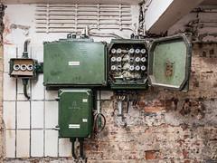 Kraftverteilung (lars_uhlig) Tags: 2016 deutschland germany keller installation elektrik kraftverteilung strom meerane jugendklub volkshaus