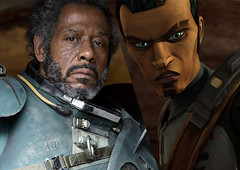 Forest Whitaker is playing Saw Guerrera from The Clone Wars! ([SuperSith]) Tags: forest one star wars rogue clone whitaker