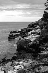 Newport Cove - VIII, Acadia National Park, ME, September, 2014 (Norm Powell (napowell30d)) Tags: fineart acadianationalpark bw blackandwhite landscape monochrome travel newportcove nationalpark maine nps landscapes nationalparks