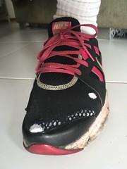 IMG_9715 (a.r.m.c) Tags: season hole nike worn adidas trashed tr3 hellbender