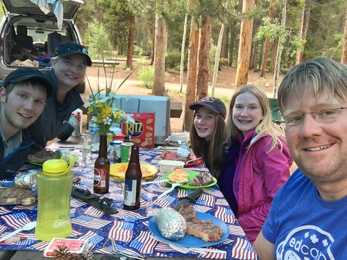 Family Fourth of July Steak Celebration by Wesley Fryer, on Flickr