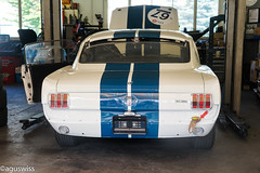 Ford Mustang Shelby GT350 (aguswiss1) Tags: white ford racecar us stripes 350 shelby mustang gt lemans racer ponycar gt350 trackcar lemansclassic fordmustangshelbygt350 usmuscle usmusclecar tracktool