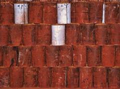 RUSTY TANKS (gianmaria.colognese) Tags: texture tank rusty bidoni