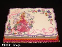 M00905 (merrittsbakery) Tags: cake birthday pink barbie dolls princess