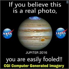 If You Believe This Is A Real Photo (ipressthis) Tags: sun moon plane computer truth flat god earth space nasa yang dome reality bible jupiter curve yinyang yin universe liars cgi hoax curvature flatearth 2016 nocurve