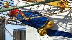 Net Woman (brandsvig) Tags: galjonsfigur ystad skne july 2016 grossherzoginelisabeth elsfleth sweden sverige fr hamn harbour net woman ship sailingship schoolship 1909
