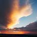 Gilded sunset