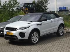 New Range Rover Evoque Convertible (harry_nl) Tags: netherlands nederland 2016 denhaag landrover rangerover evoque convertible jz347j romijn