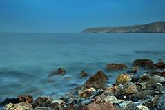 Sunset at Yiti beach, Muscat (Mudhassar) Tags: longexposure sunset summer beach lowlight nikon middleeast oman amateur muscat d90 yiti