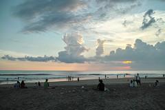 Seminyak (bSlaney) Tags: ocean blue sunset vacation portrait people bali holiday beach clouds last magazine indonesia island locals cloudy bokeh sister stock lifestyle sigma adventure sensor merrill foveon seminyak layered dp1