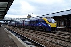 180111 - Lincoln (AJHigham) Tags: london station first trains class 180 lincoln service hull paragon adelante dmu fht divert 180111