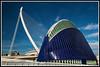 Agora y puente Calatrava CAC (edomingo) Tags: valencia calatrava cac ciudadartesyciencias nikond90 edomingo nikkor1685vr