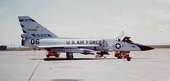 Convair F-106A Delta Dart (Sentinel28a1) Tags: montana greatfalls usaf convair f106 deltadart montanaang aim4 120thfw 120thfig greatfallsairport